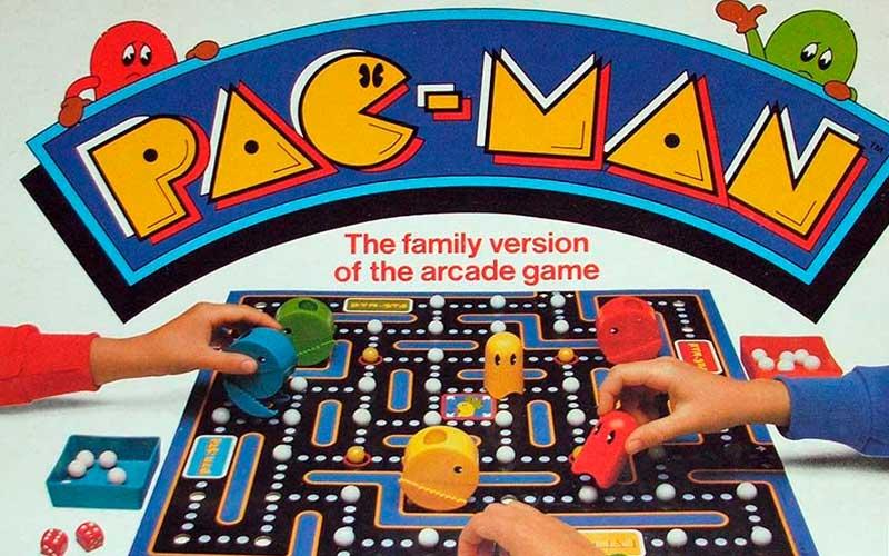 Pac-man, il gioco da tavolo