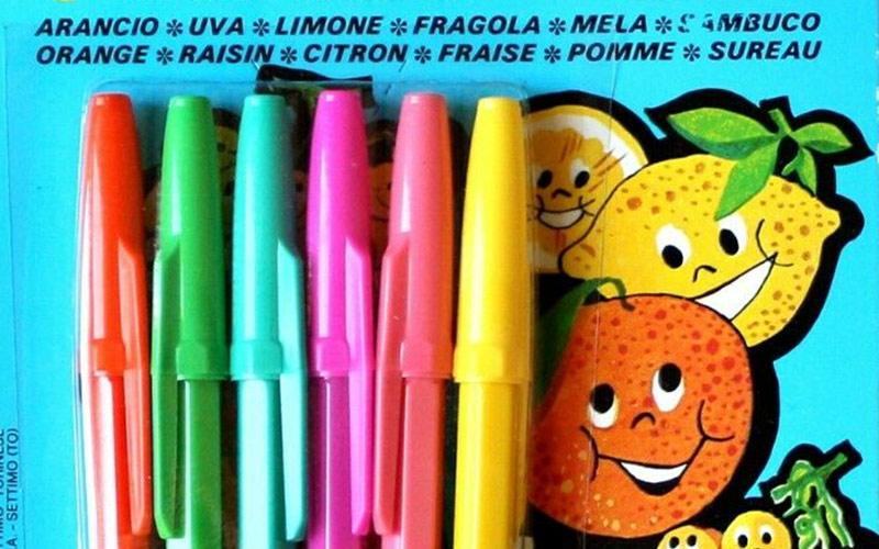 Fiorella, penna profumata
