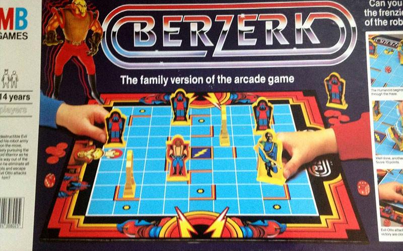 Berzerk - gioco da tavolo