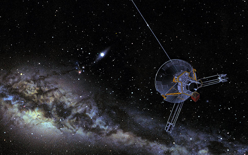 Pioneer 10 lascia il sistema solare