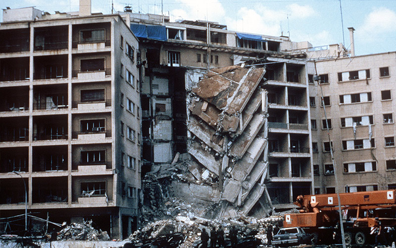 Attentato all'ambasciata USA di Beirut